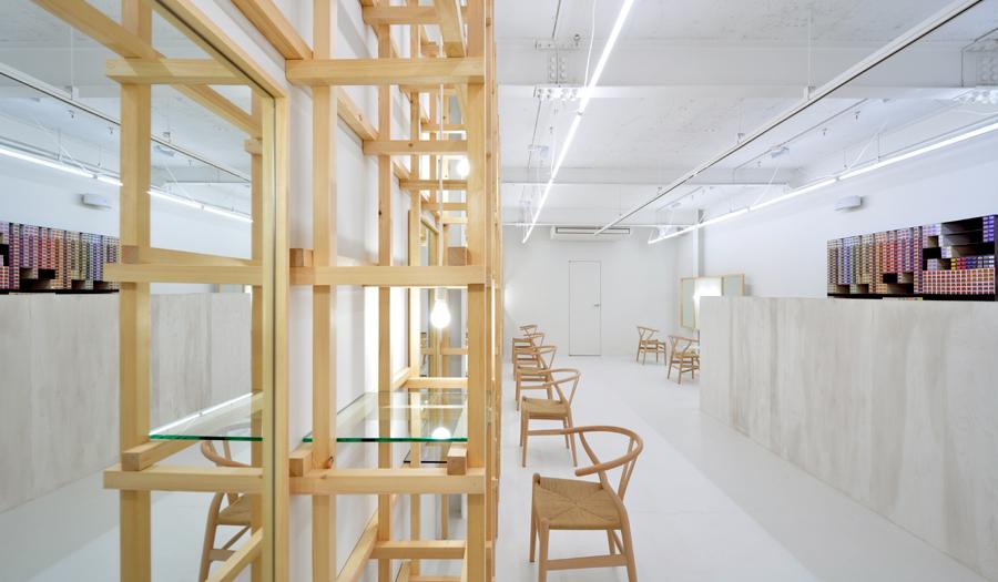 # end...Link 空間連結:Yasunari Tsukada在日本大阪的簡約木框架沙龍! 1