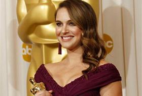 Natalie Portman vince l'oscar per migliore attrice 2011