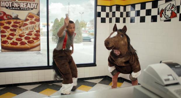 "New Little Caesars ""Horse"" Commercial"