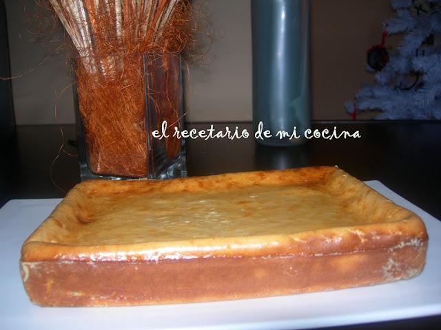 pastel de quesitos y yogurt griego