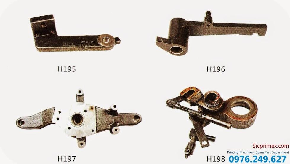 Bán linh kiện máy in Hải Đức Bảo nhập khẩu chính hãng giá rẻ H195-198