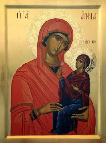 A Holy Family Atmosphere A Homily For The Foremother Of Christ Saint Anna