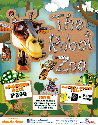 The Robot Zoo  NIDO FORTIFIED Science Discovery Center