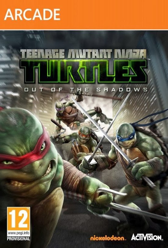 Cover Of Teenage Mutant Ninja Turtles: Out of the Shadows (2013) Full Latest Version PC Game Free Download Resumable Links at alldownloads4u.com