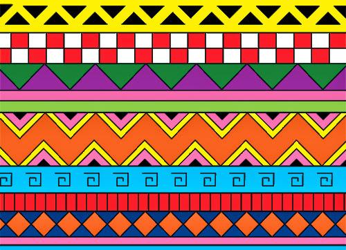 DIY - customização de camiseta com estampa étnica