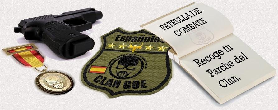 Miembros actuales del clan Recoje+parche+Clan+G.O.E