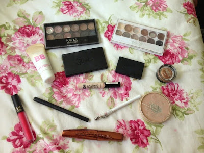 wedding guest makeup look and products