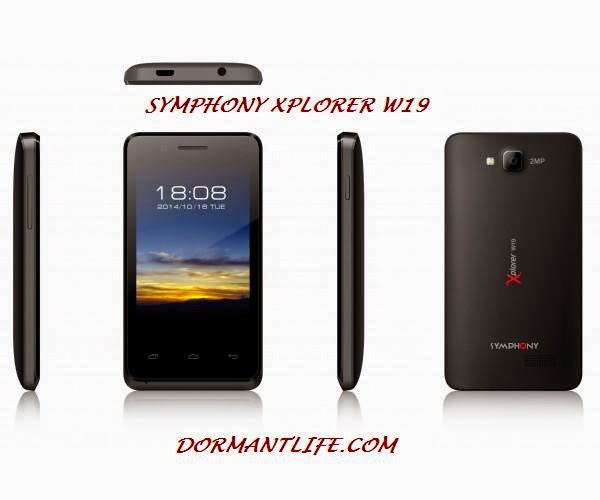 W19 600x500 - Symphony Xplorer W19 : Smartphone Specifications And Price