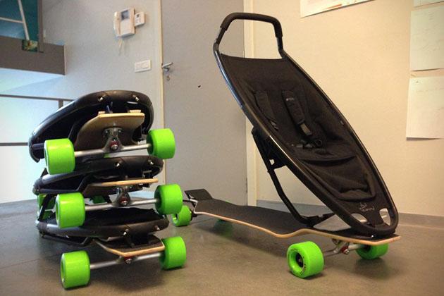 *滑板嬰兒推車:Quinny與Longboard Stroller夢幻戶外組合! 2