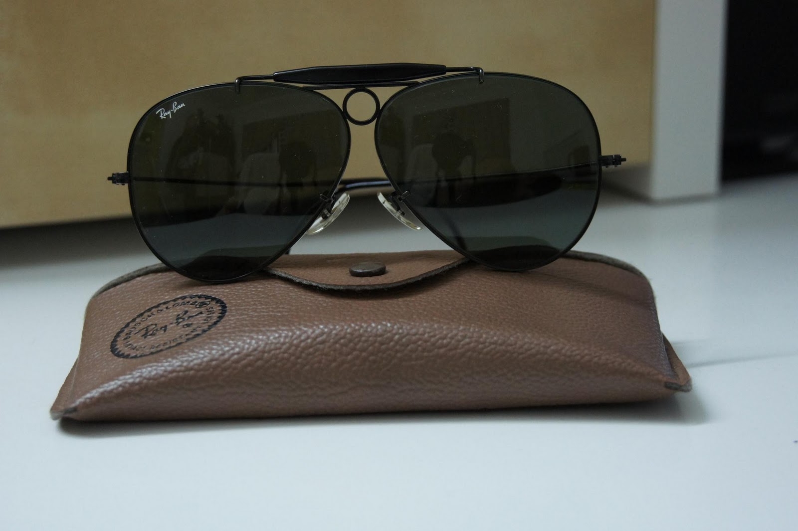 The Black Dickie S Rayban Shooter Black Size 62 Bl Usa Sold