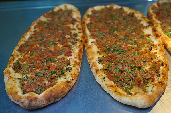 turkish flatbread, pide