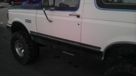 Power Running Boards Ford Bronco Forum