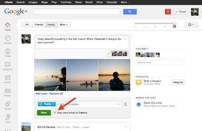 Google+ Update August 2012