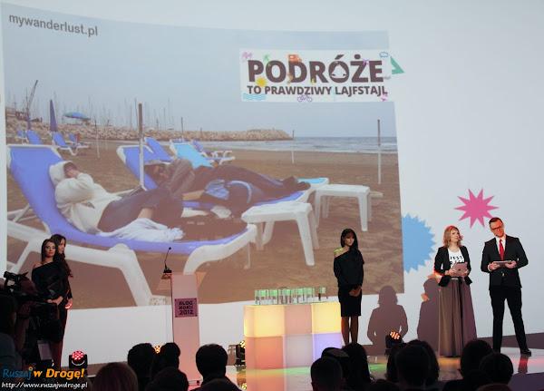 gala blog roku 2012 - blogi podróżnicze