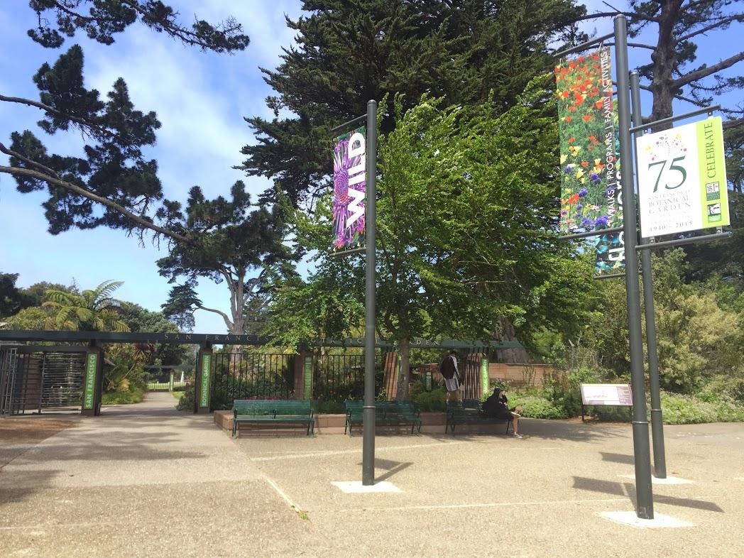San Francisco Botanical Garden Visitor Discovery Map