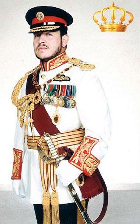 Grandson Of King Faisal. His Majesty King Abdullah II