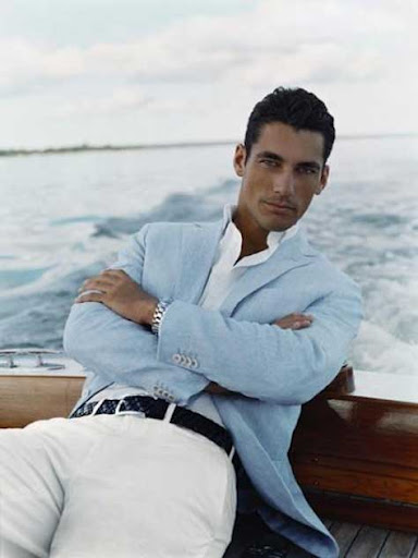 David Gandy, en el mar