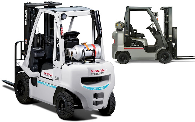LPG Forklift by Unicarriers