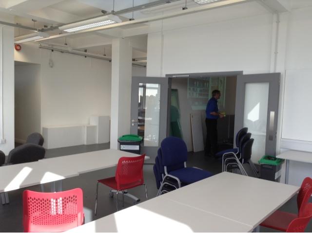Pompey illustration newly refurbished illustration studios for 6 degrees salon portsmouth
