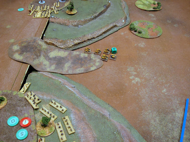 Bikes double and lay a BM on an infantry coy.