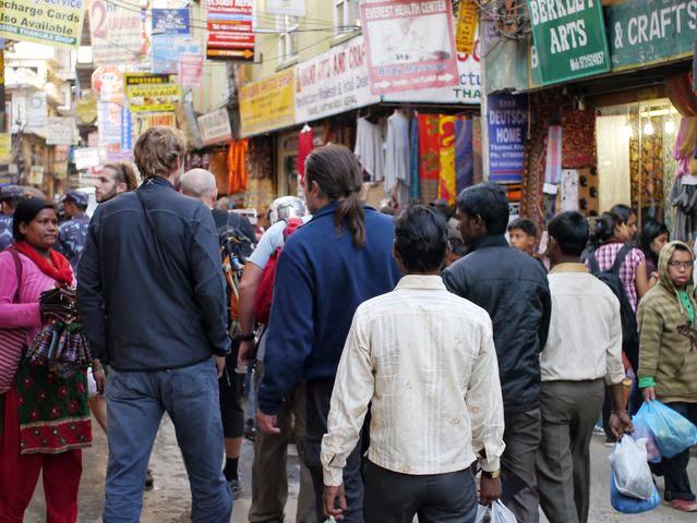 達人帶路-環遊世界-尼泊爾-thamel街頭