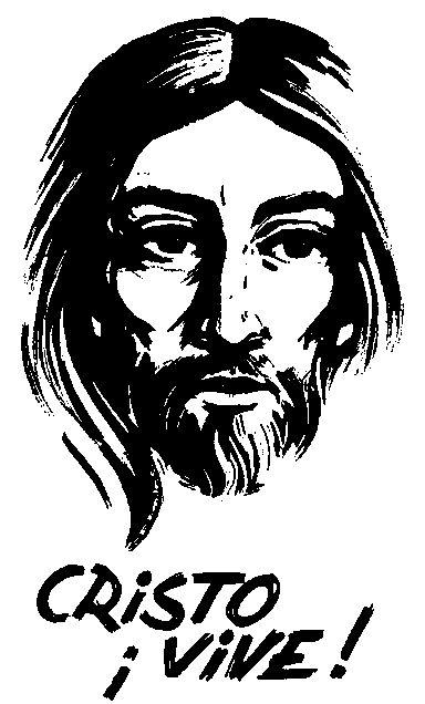Cristo vive para colorear
