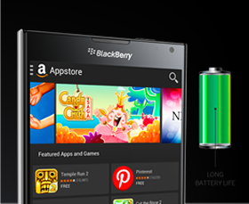 Blackberry long battery life