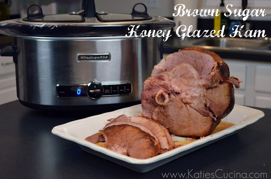 Brown Sugar Honey Glazed Ham