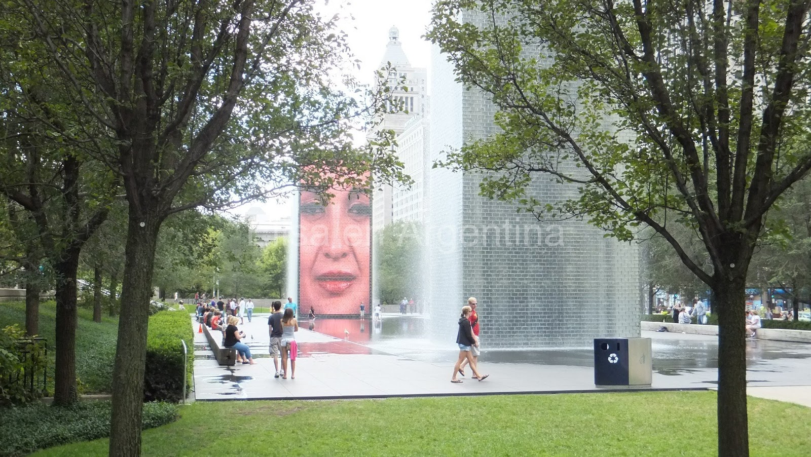Crown Fountain, Jaume Plensa, Chicago