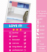Teen Vogue Me Girl Level 46 - Fall Trends  TV Segment - Rachel - Love It! Three Stars