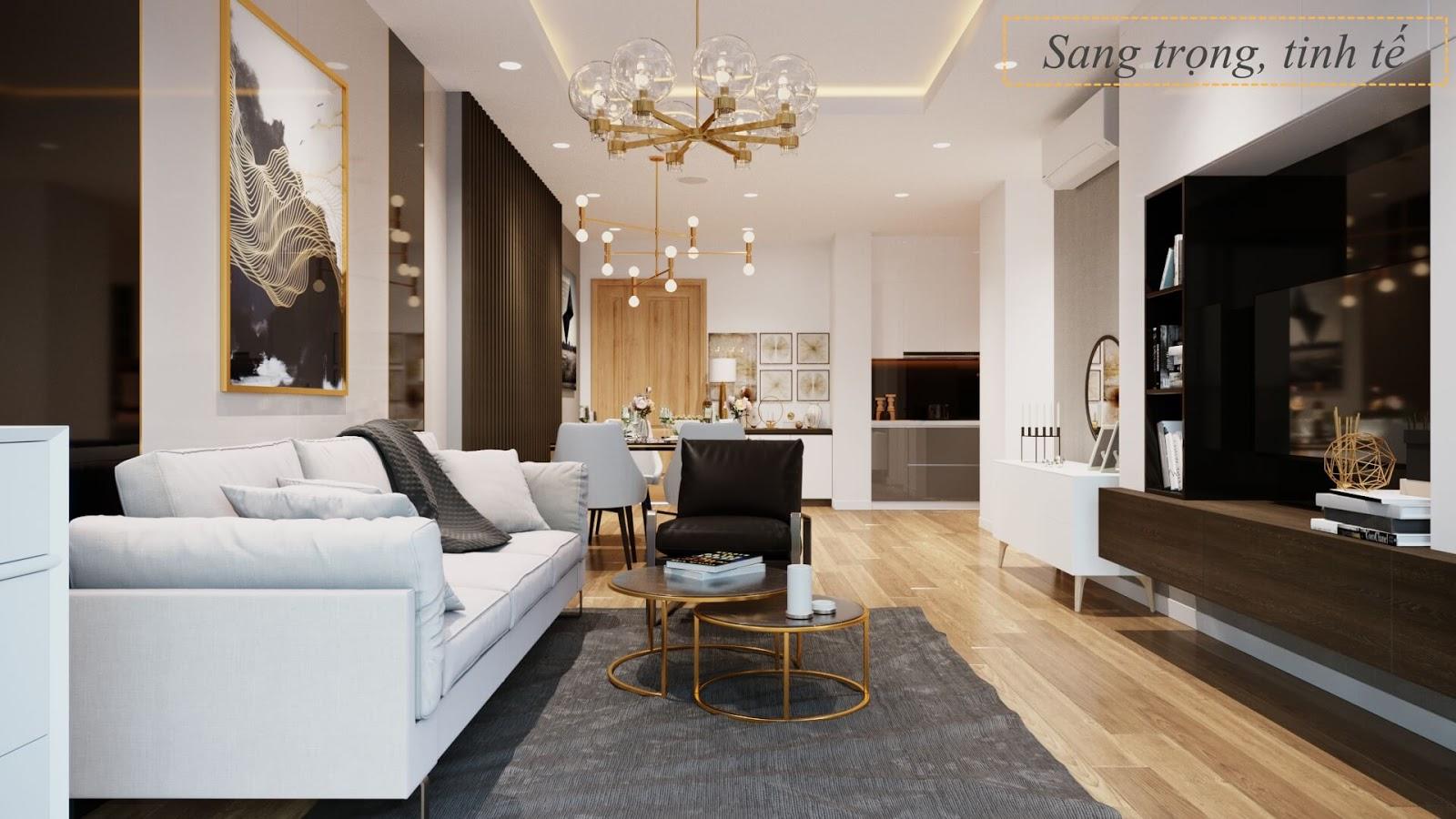 Thiết kế căn hộ toà B dự án Sky View Plaza