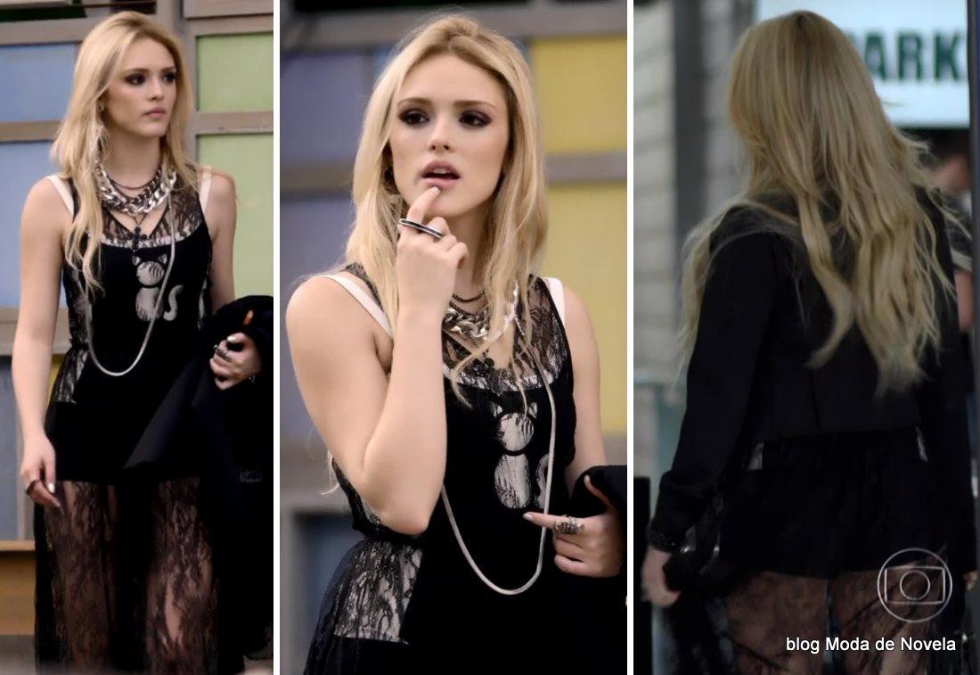 moda da novela G3R4Ç4O BR4S1L - look da Megan dia 23 de junho
