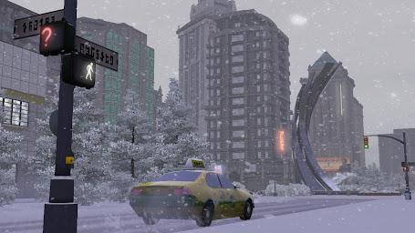 Зимний город симс 3