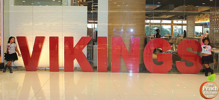#EatLikeAViking at Vikings Megamall| www.thepeachkitchen.com