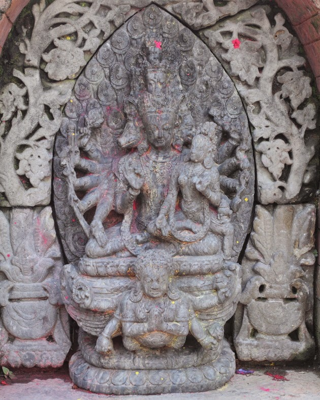 Different Avatars of Maha Vishnu at Changgu Narayan Temple, Nepal