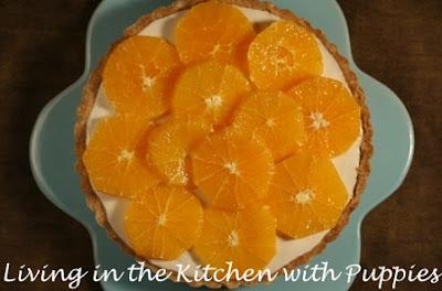 ... : Fresh Orange and Yogurt Tart from Martha Stewart's Pies and Tarts