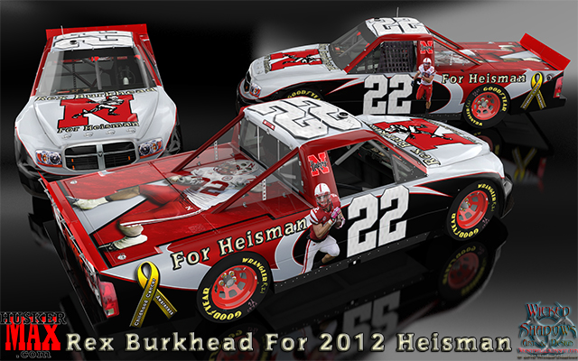 Rex Burkhead For 2012 Heisman wallpaper