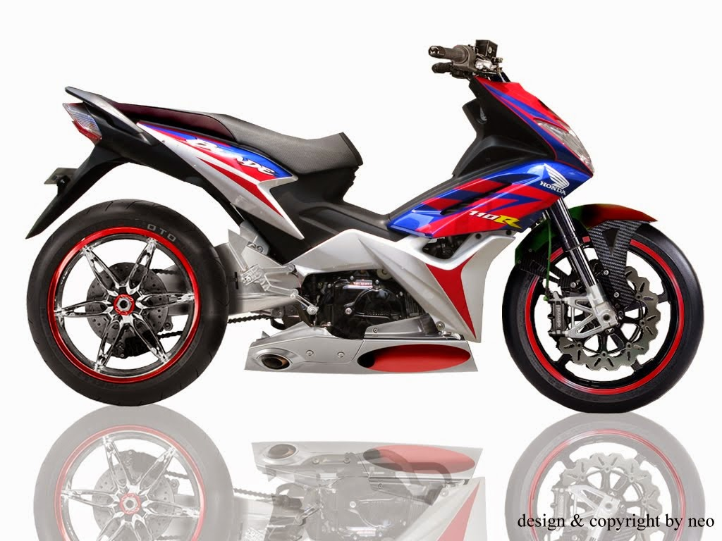 Data Modifikasi Honda Blade Road Race