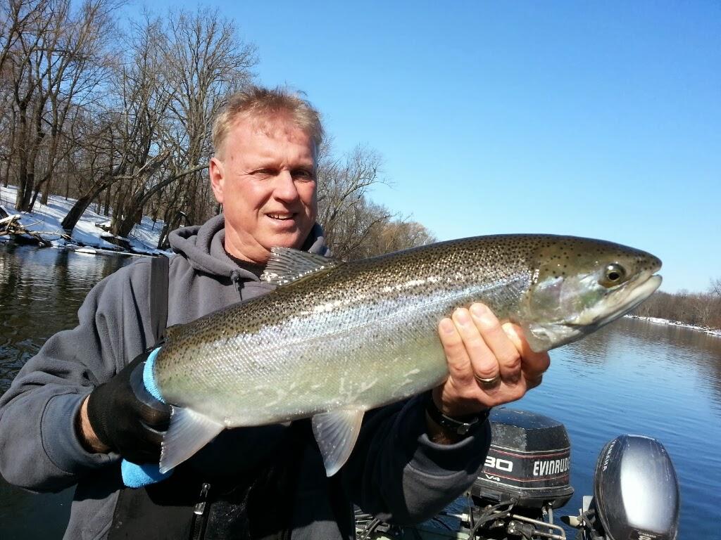 Michigan Steelhead fishing guide