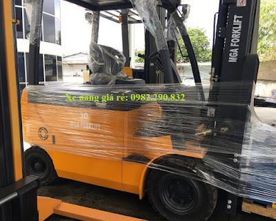 Xe nâng điện 3 tấn IZU Japan