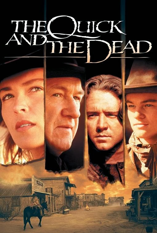 Poster Of The Quick and the Dead (1995) Full Movie Hindi Dubbed Free Download Watch Online At Alldownloads4u.Com
