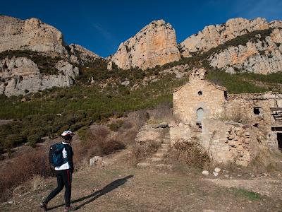 El poble abandonat de Rúbies