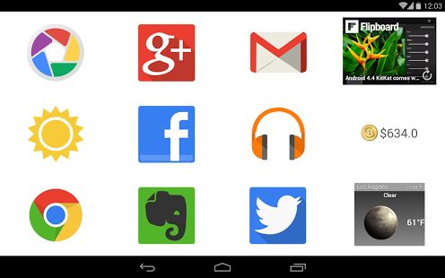 BIG Launcher v2.5.3 for Android