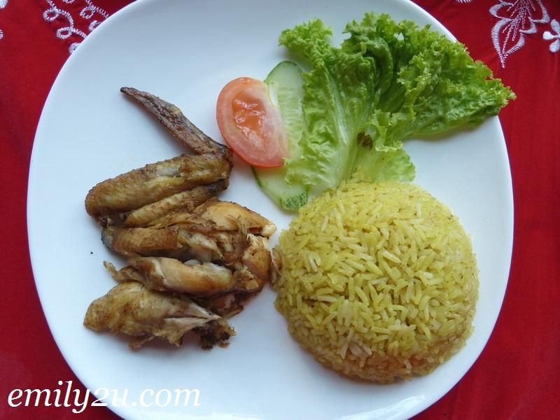 nasi ayam pacak