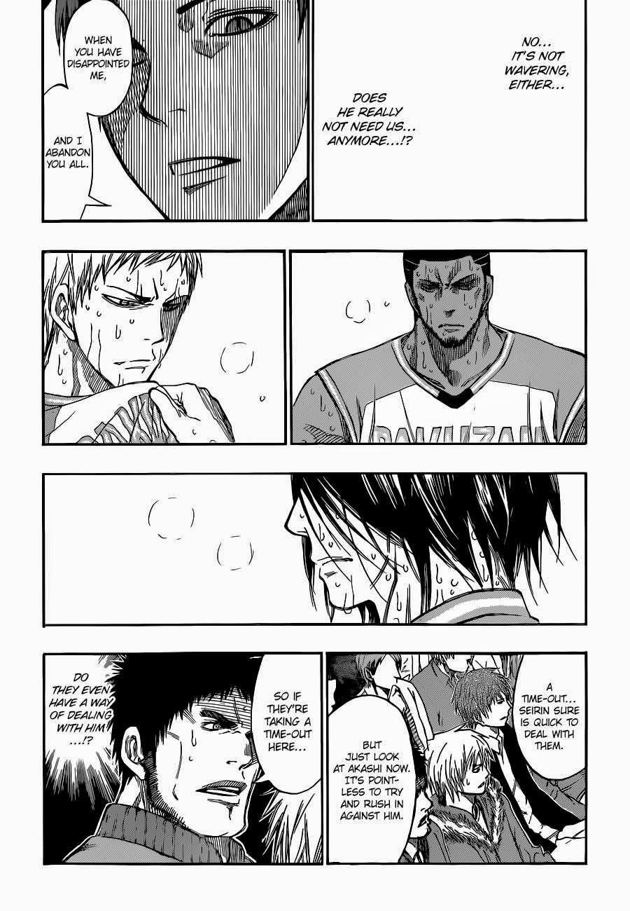 Kuroko no Basket Manga Chapter 261 - Image 11
