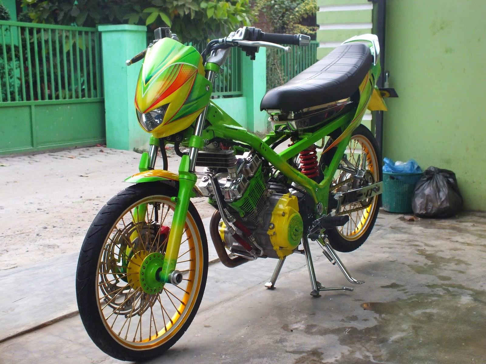 Modif Striping Yamaha Vega Zr Jenis Motor