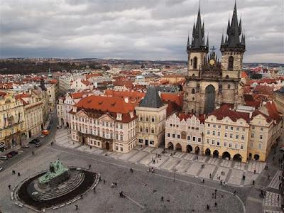 Plaza de la Ciudad Vieja (Staromestske Namesti) de Praga