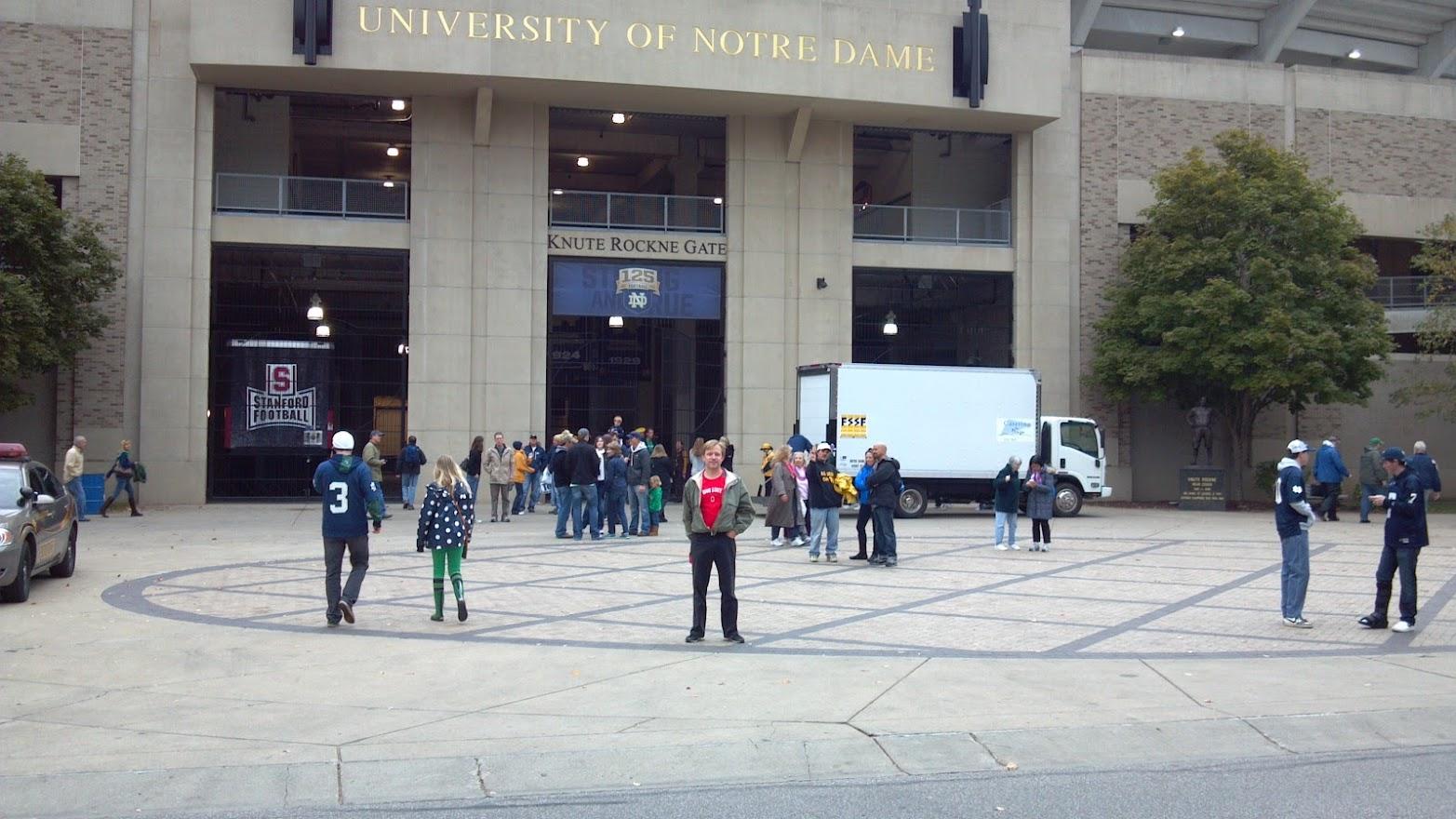 Go Bucks @ Notre Dame