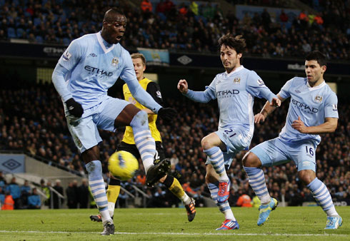 Mario Balotelli, Manchester City - Blackburn