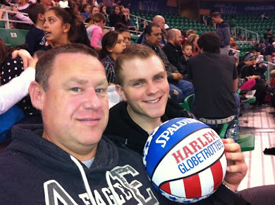 harlem globetrotters in salt lake city husband